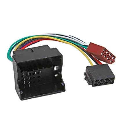 amazon com flameer iso wiring harness connector adaptor car stereo  image unavailable image not available for color flameer iso wiring harness connector adaptor car stereo radio