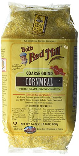 (Bob's Red Mill Cornmeal Coarse Grind, 24-ounces (Pack of4))