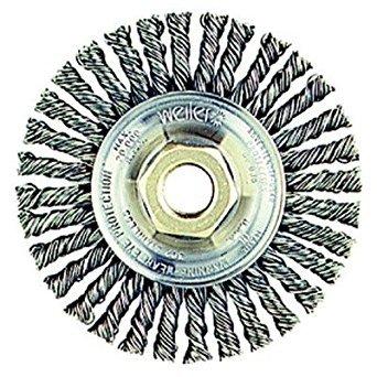 (Weiler 13131 Stringer Bead Knot Wire Wheel, 4