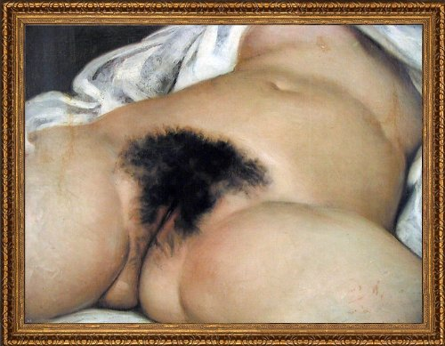Art Oyster Gustave Courbet The Origin The World - 21.05