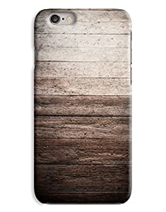Dark Wood Fence iPhone 6 Plus Hard Case Cover