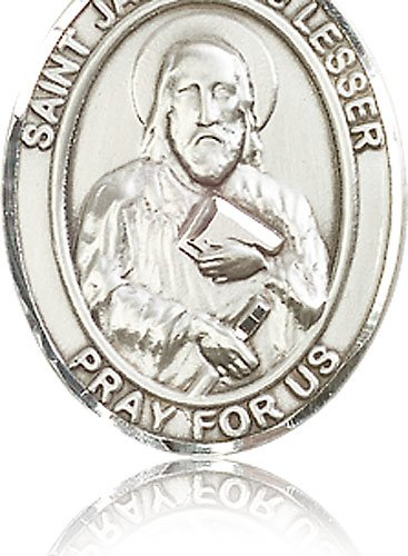 Sterling Silver St James the Lesser Pendant