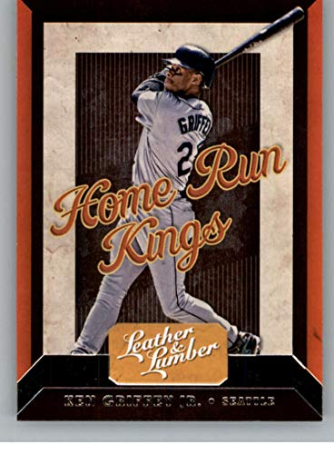 2019 Leather and Lumber RETAIL Home Run Kings #6 Ken Griffey Jr. Seattle Mariners Official MLBPA Licensed Panini Baseball Card ()