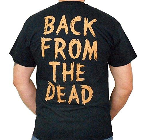 Buy obituary men's back from the dead t-shirt black