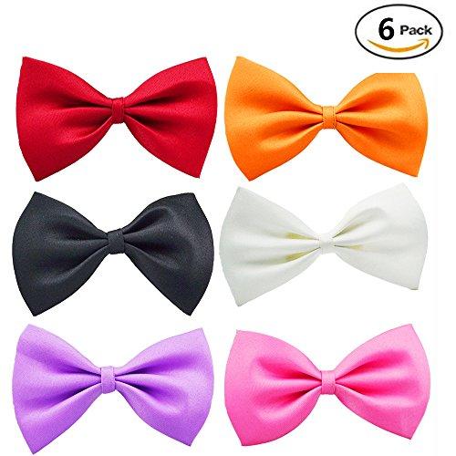 Adorable Pet Bow Ties Adjustable Neck Tie 8-17