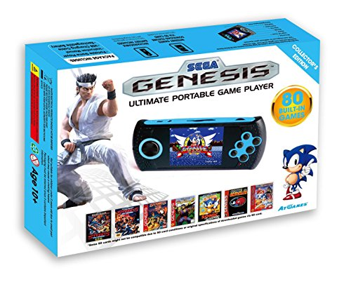Genesis AtGames Ultimate Portable electronic games