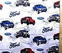 キャラクター生地・USAコットン・フォード(Ford)(オフ)の商品画像
