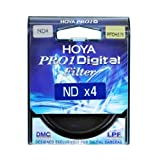 Hoya 62mm DMC PRO1 Digital ND4X (0.6) Neutral Density Filter