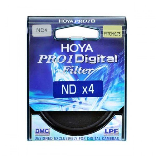 Hoya 62mm DMC PRO1 Digital ND4X (0.6) Neutral Density Filter by Hoya
