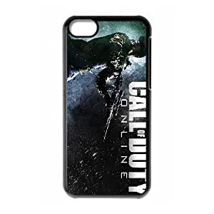Call of Duty Online iPhone 5c Cell Phone Case Black yyfD-271333