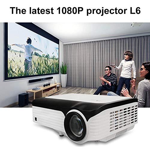 Liamostee Proyector de Video Resolución HD Completa 1080p ...