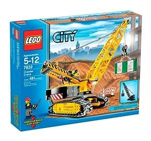 lego city crawler crane 7632 amazoncouk toys amp games