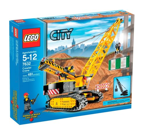 LEGO City Crawler Crane (7632) (Building City Lego Crane)
