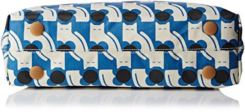 Hombro Blue Bolso Orla Kiely powder Al Asa Azul qIZ86w41