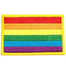 Gay pride flag or LGBT pride flag, Rainbow gay pride , sewing patch, perfect for jeans , Hats, shirts, backpacks