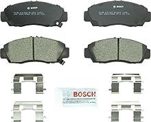 Bosch BC1506 QuietCast Premium Ceramic Disc Brake Pad Set For 2012-2014 Acura TSX and 2011-2012 Honda Accord; Front