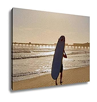 amazon ashleyキャンバス デイトナビーチフロリダ州のshore with pier