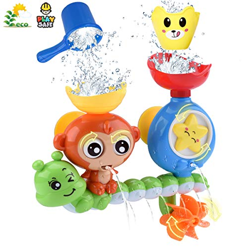 GOODLOGO Bath Toys for Toddlers Kids Babies 1 2 3
