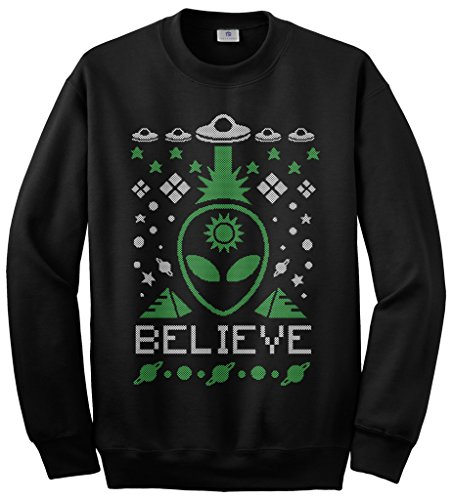 Alien Ugly Christmas Sweatshirt