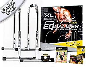 Lebert Fitness Equalizer Frank Medrano Signature Serie Chrom XL Bonus Pack