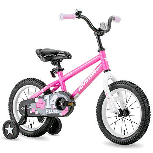 JOYSTAR Kids Bike for Ages 2-9 Years Girls with Training Wheels for 12 14 16 18 inch Bike, Kickstand for 18 inch Bicycle…