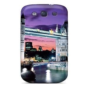 RomeoJr Slim Fit Tpu Protector QDn1624VYFw Shock Absorbent Bumper Case For Galaxy S3