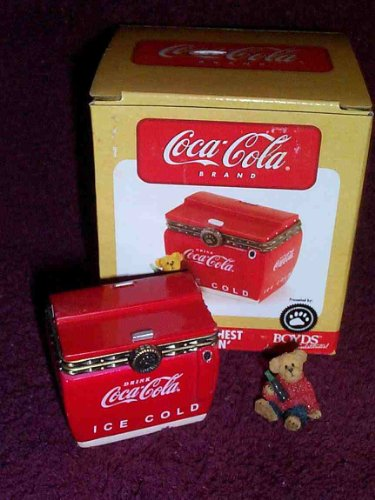 Boyds Coke Chest with Thirstin' 1st Edition #919910
