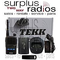 TEKK X-100V 2 Watt VHF 128 Channel 1300MAh With LCD