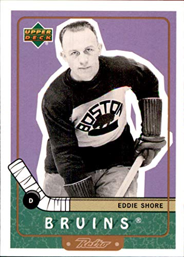 1999-00 Upper Deck Retro #88 Eddie Shore BOSTON BRUINS