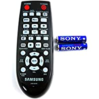 GENUINE OEM SAMSUNG AH59-02547B Replacement Remote Control FOR: Samsung Sound Bar Home Theater Soundbar HWF450ZA HWF450 HWFM45 HWFM45C and INCLUDES SONY STAMINA PLUS BATTERIES ($6.95 Value)