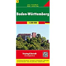 Germany 3: BADEN WURTTEMBERG Region FB Map