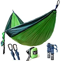 Winner Outfitters Double Camping Lightweight Nylon Portable Hammock