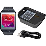 Galaxy Gear 2 Neo SM-R381 Smart Watch Charging Dock Cradle Charger + Micro USB Cable(Black)