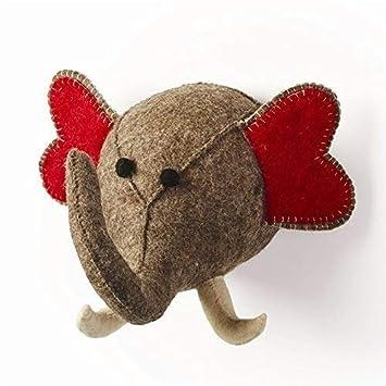 Amazon Com Stuffed Animal Elephant Trophy Head Baby