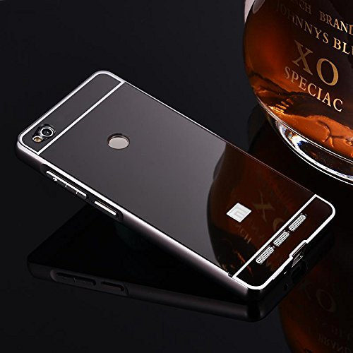 huge sale 56c42 e2f3c Cedo Luxury Metal Acrylic Mirror Back Cover Case For: Amazon.in ...