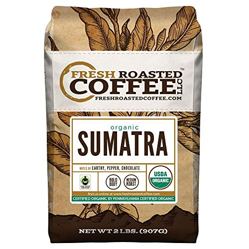 FTO Sumatra Coffee, Whole Bean, Fresh Roasted Coffee LLC (2 -