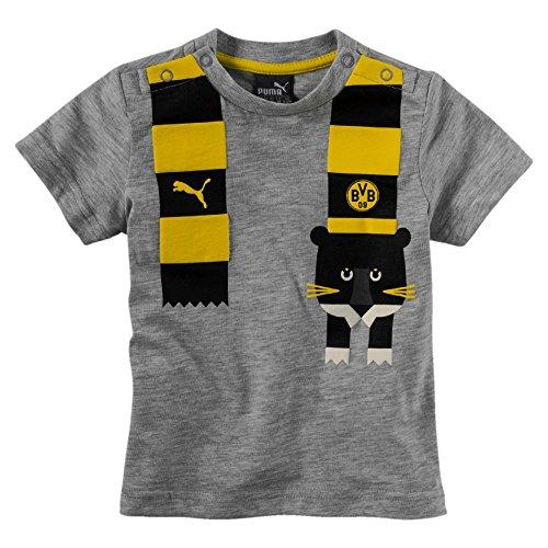 Bvb Minicats da grigio Unisex bambino grafica shirt Puma T chiaro wY8qS0xF