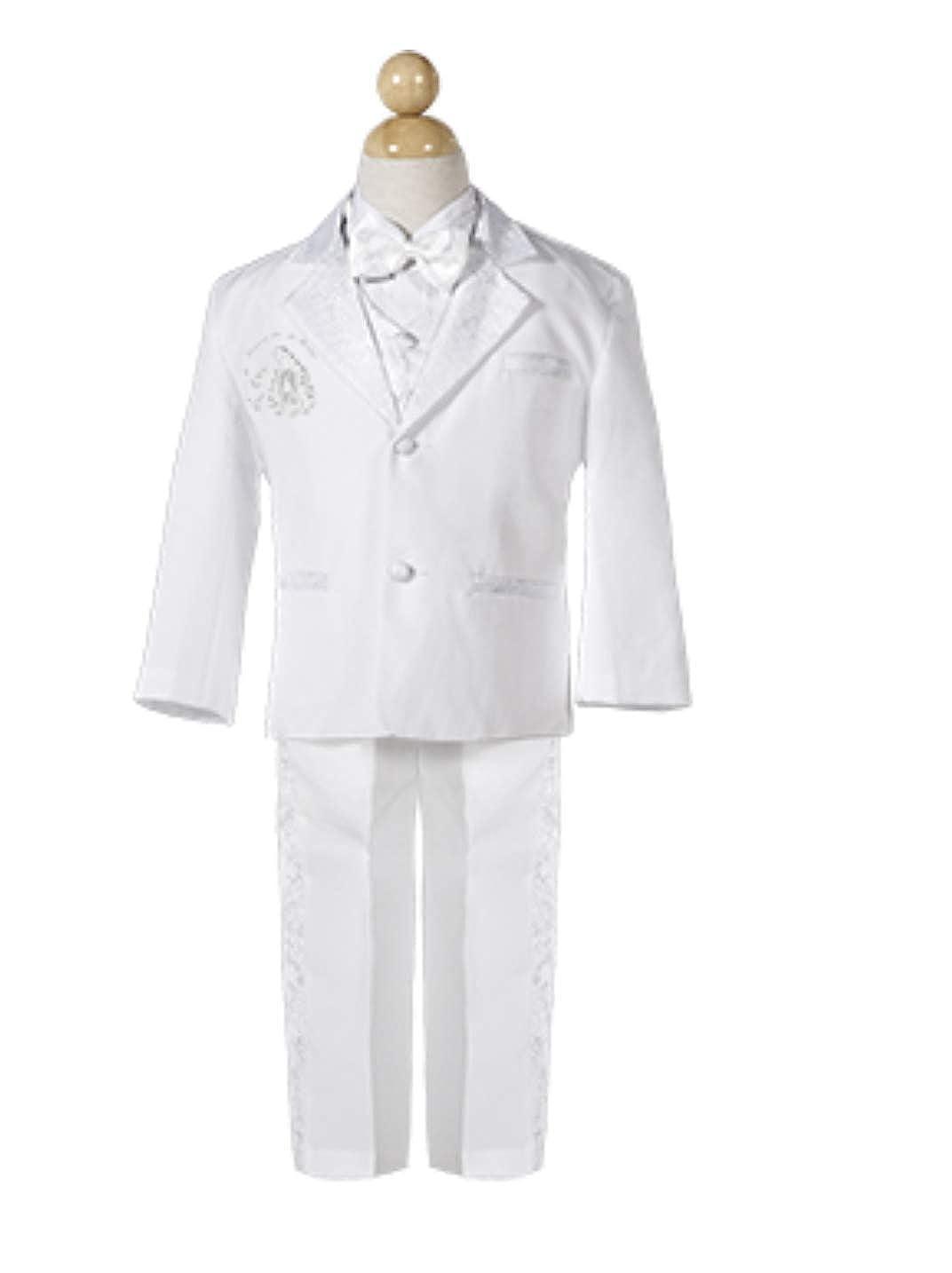 Amazon.com: Boys Baptism/Christening Suit, Traje De Bautizo ...