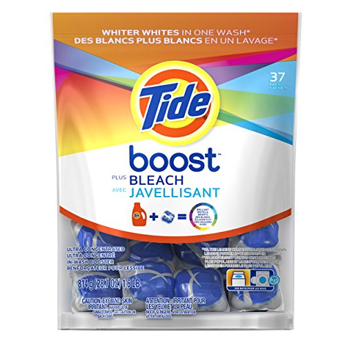 Tide Boost Stain Release Plus Bleach 37 Count (Tide Pods Clean Breeze compare prices)