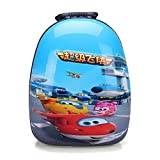 YOURNELO Kid's 3D Mini Cute Cartoon Hard Surface Rucksack School Backpack Bookbag (Super Wings)