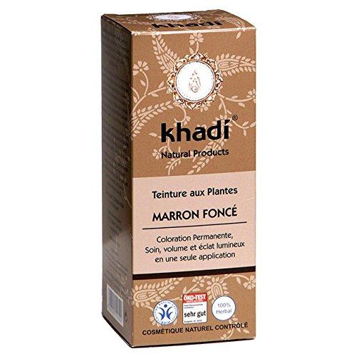 Khadi Herbal Hair Colour Dark Brown 100g