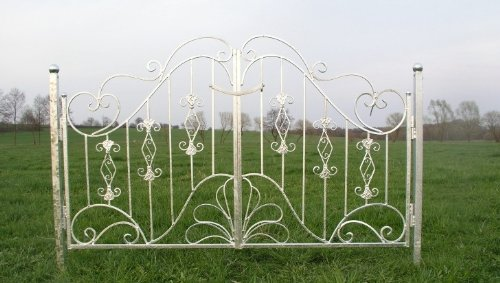 Antik Eisen Gartent/ür Gartentor Tor Vitoria-GT180 Zink