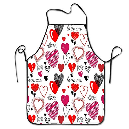 - RoseFlowers Cute Apron Bib Patterns Love Theme Hearts Hearts Love Theme Hearts Valentine S Day Wallpaper Happy Restaurant Kitchen Chef Cooking BBQ Aprons