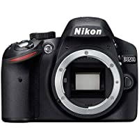Nikon D3200 Digital SLR Camera Body (Black)