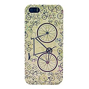 ZXC Retro Bicycle Hard Case for iPhone 5/5S