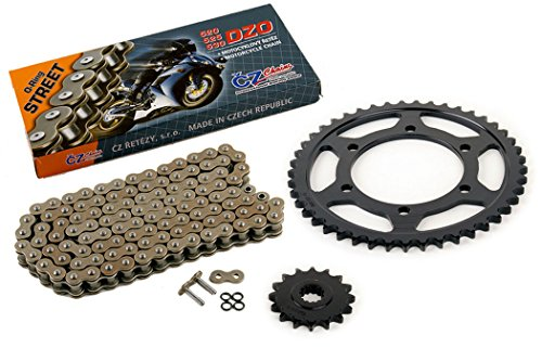 530 Conversion Sprockets (2006-2009 Yamaha YZF-R6S 530 Conversion CZ DZO O-Ring Chain & Sprocket 16/45 120)