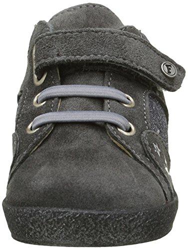Naturino Falcotto 4182 - Zapatos de primeros pasos Bebé-Niñas Gris - Gris (Gris Foncé)