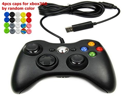 Wired Gamepad Controller For Microsoft Xbox360 & Slim 360 PC Windows 7