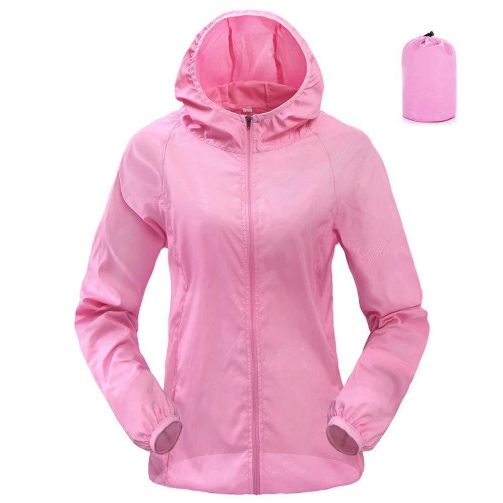 Dihope Women's Waterproof Packaway Jacket Lightweight Hooded Raincoat Cagoule Kagool