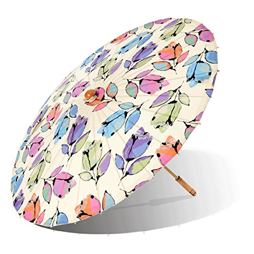Lily-Lark Bellflower UV protection sun parasol, rated UPF 50+ by Lily-Lark